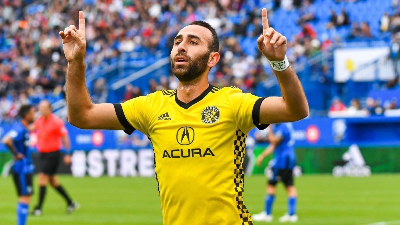 Portland Timbers targeting Justin Meram from Columbus - sources