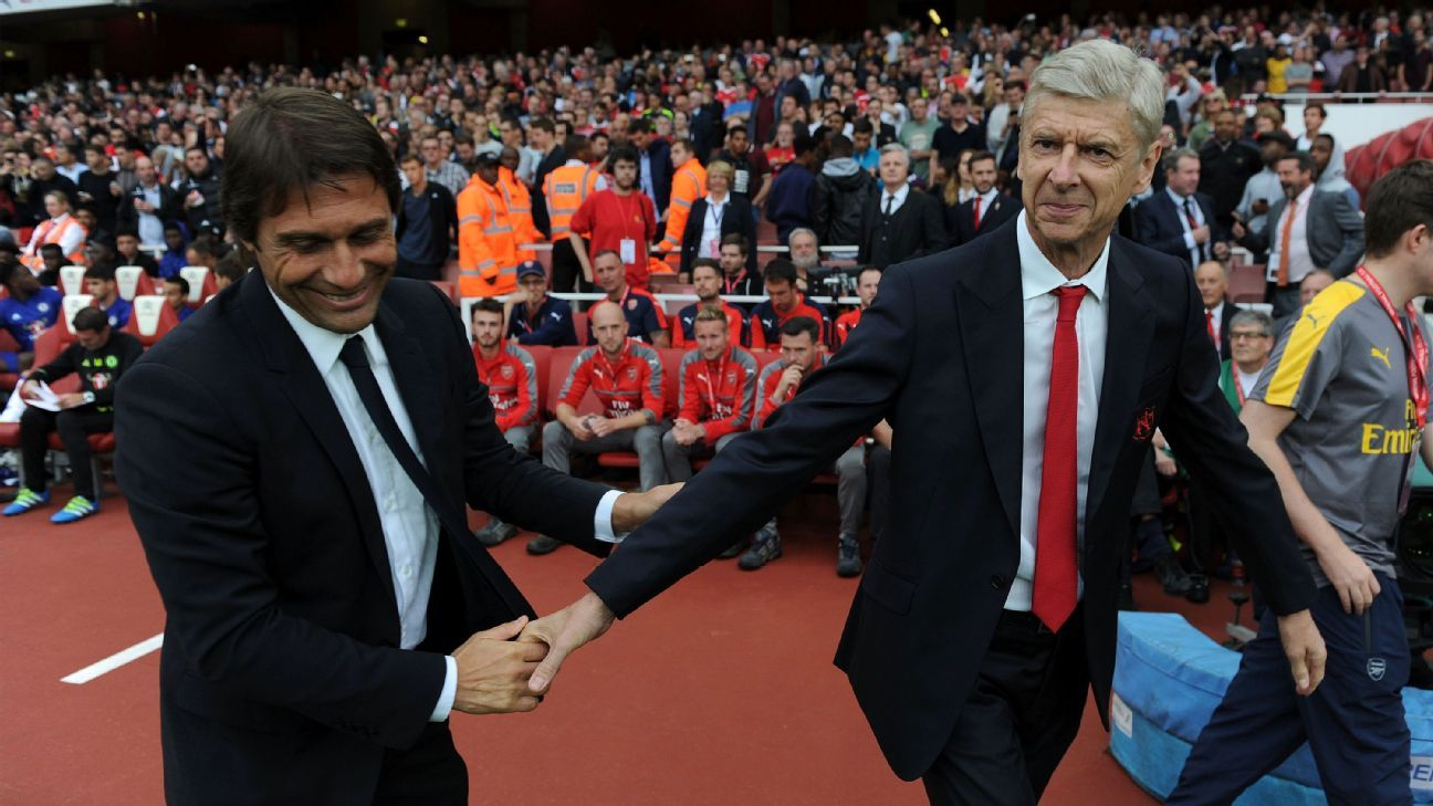 Antonio Conte & Arsene Wenger