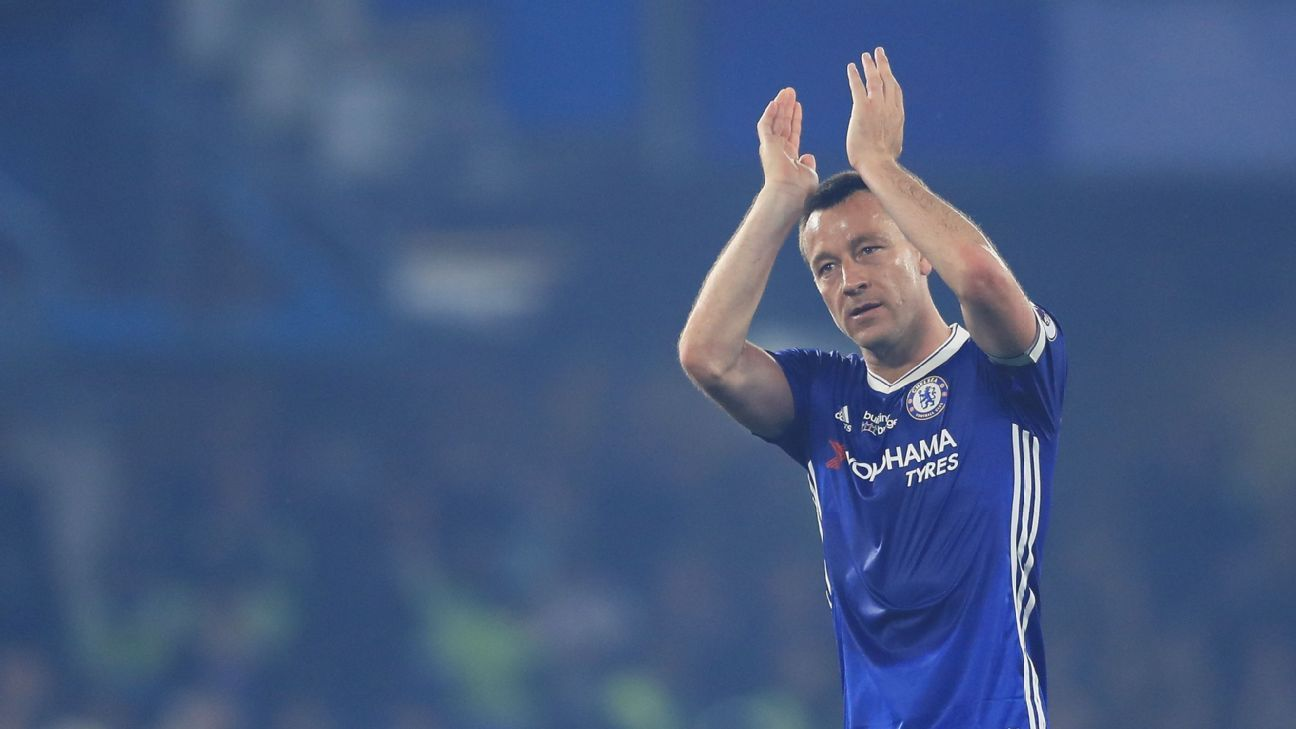 Departing Chelsea captain John Terry taking week to decide future