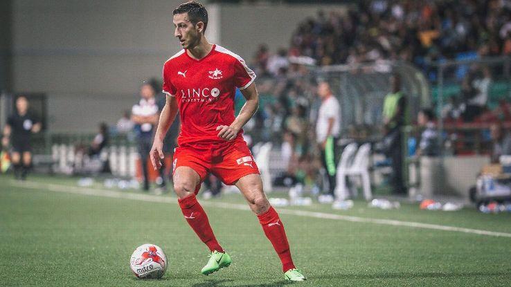 Striker Stipe Plazibat of Home United