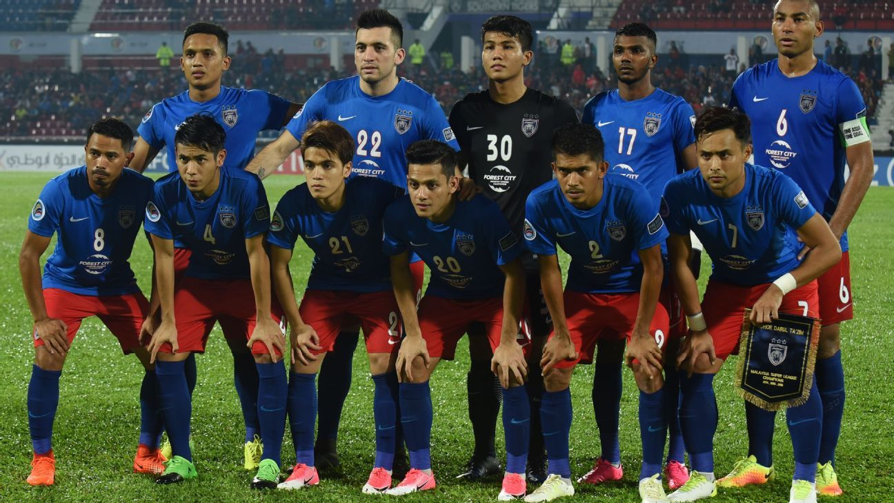 JDT starting team for AFC Cup semi vs. Ceres