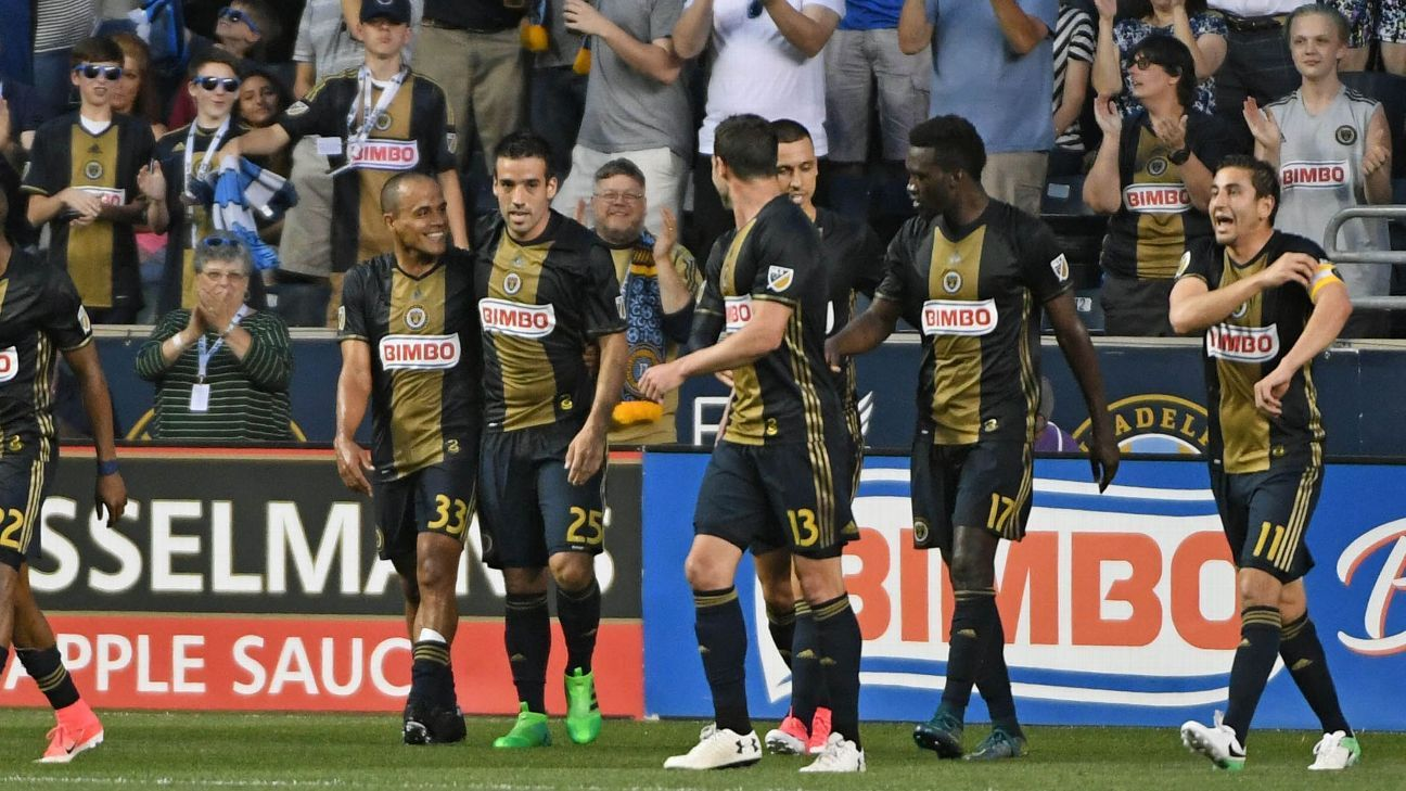 Philadelphia Union celebrates