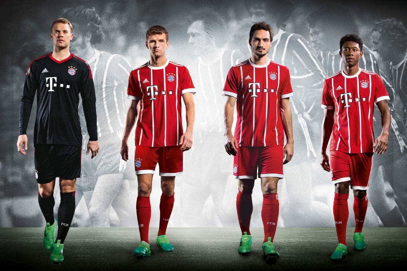 Bayern's new kit