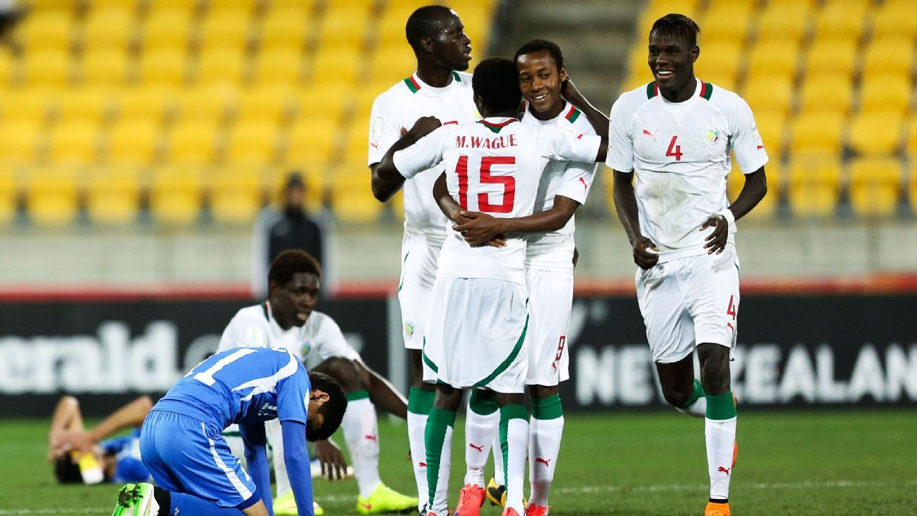 Senegal finished fourth at the Under-20 World Cup in 2015