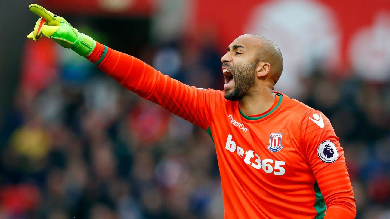 Lee Grant was deputy at Stoke to Jack Butland.
