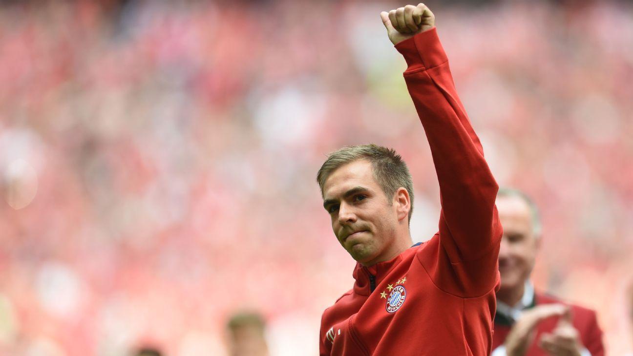 Philipp Lahm farewell