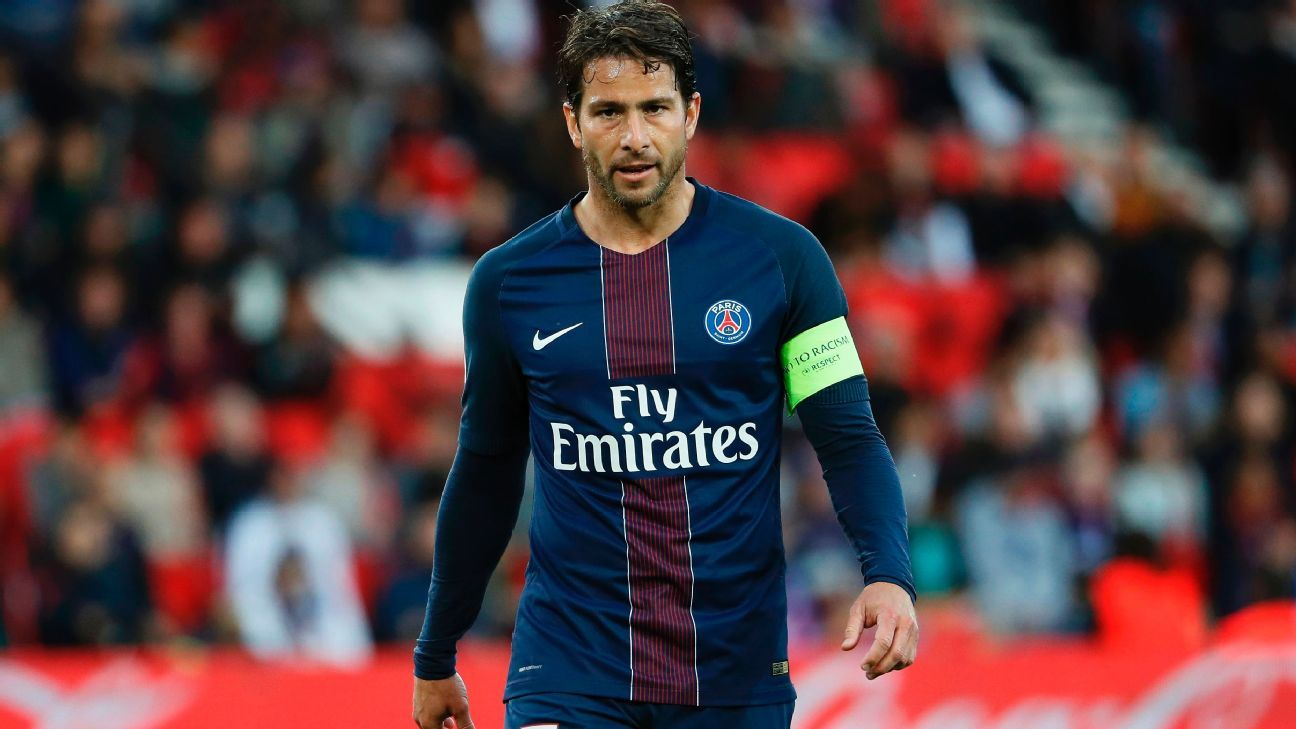 Maxwell farewell PSG Caen 170520