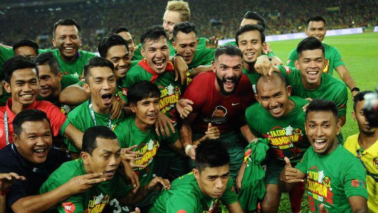 Kedah celebrate 2017 Malaysia FA Cup