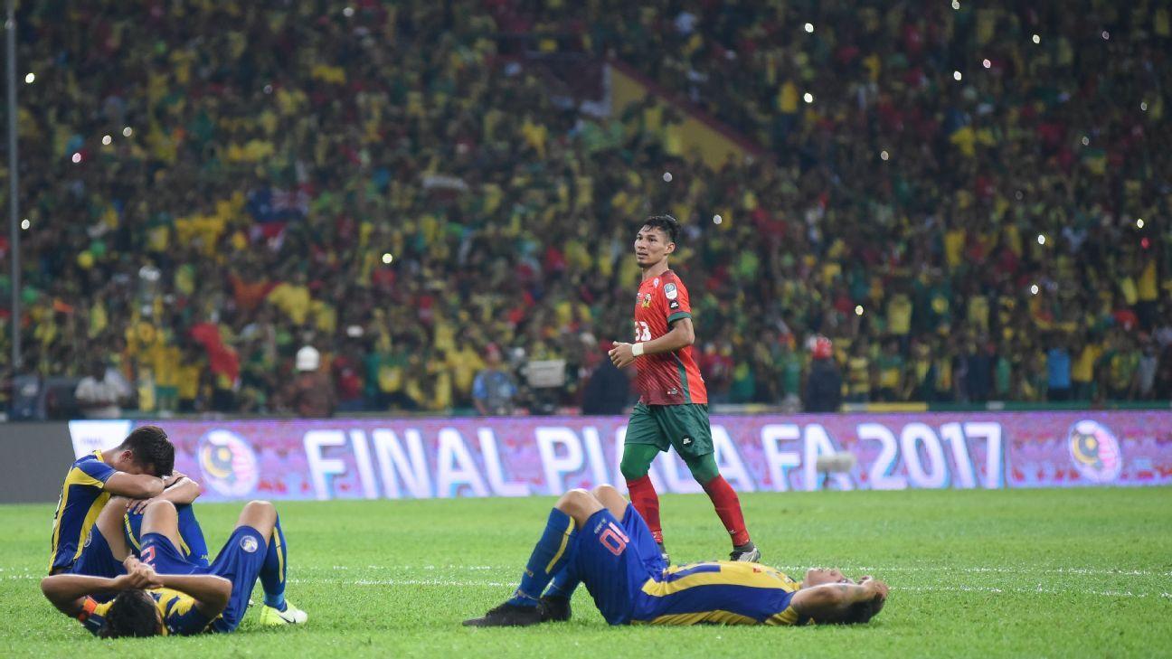 Pahang misery after FA Cup final defeat vs. Kedah
