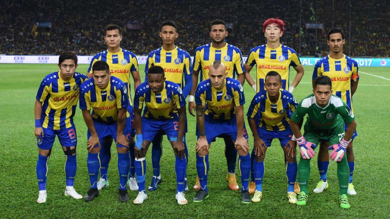 Pahang 2017 FA Cup final team