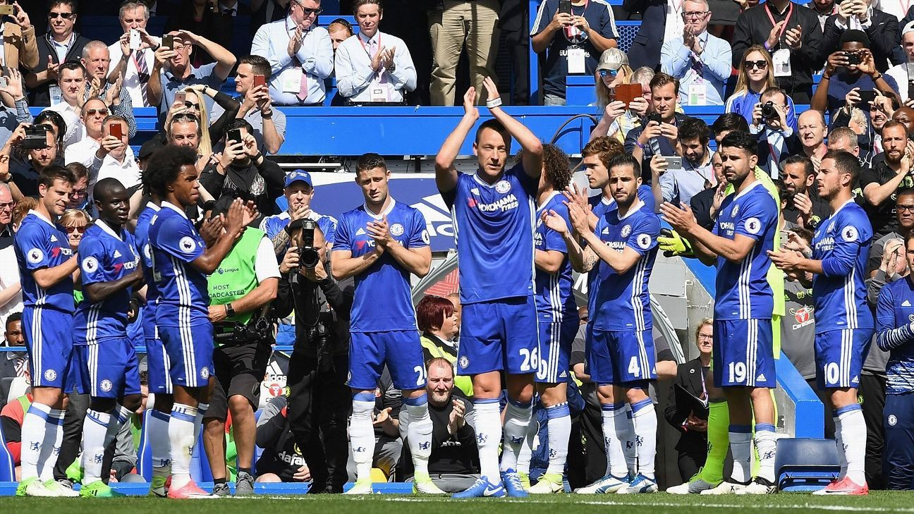 Chelsea Slavia Detail: John Terry Bids Emotional Farewell To Chelsea After Final