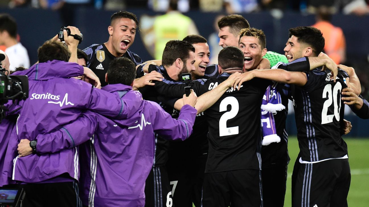 Real Madrid won their first La Liga title since 2011-12.