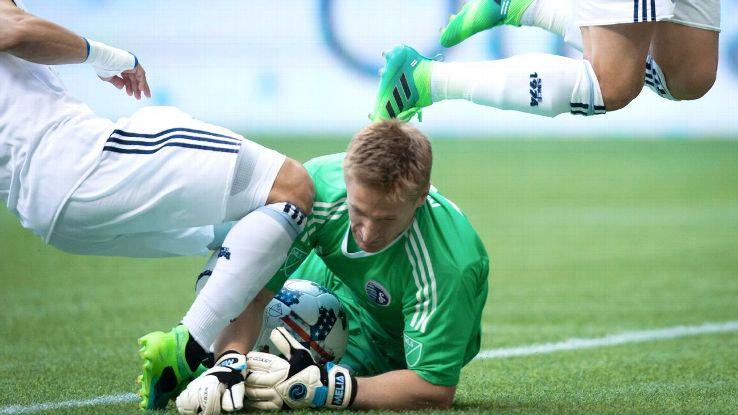 BIlly Heavner is an MLS 'pool goalkeeper'