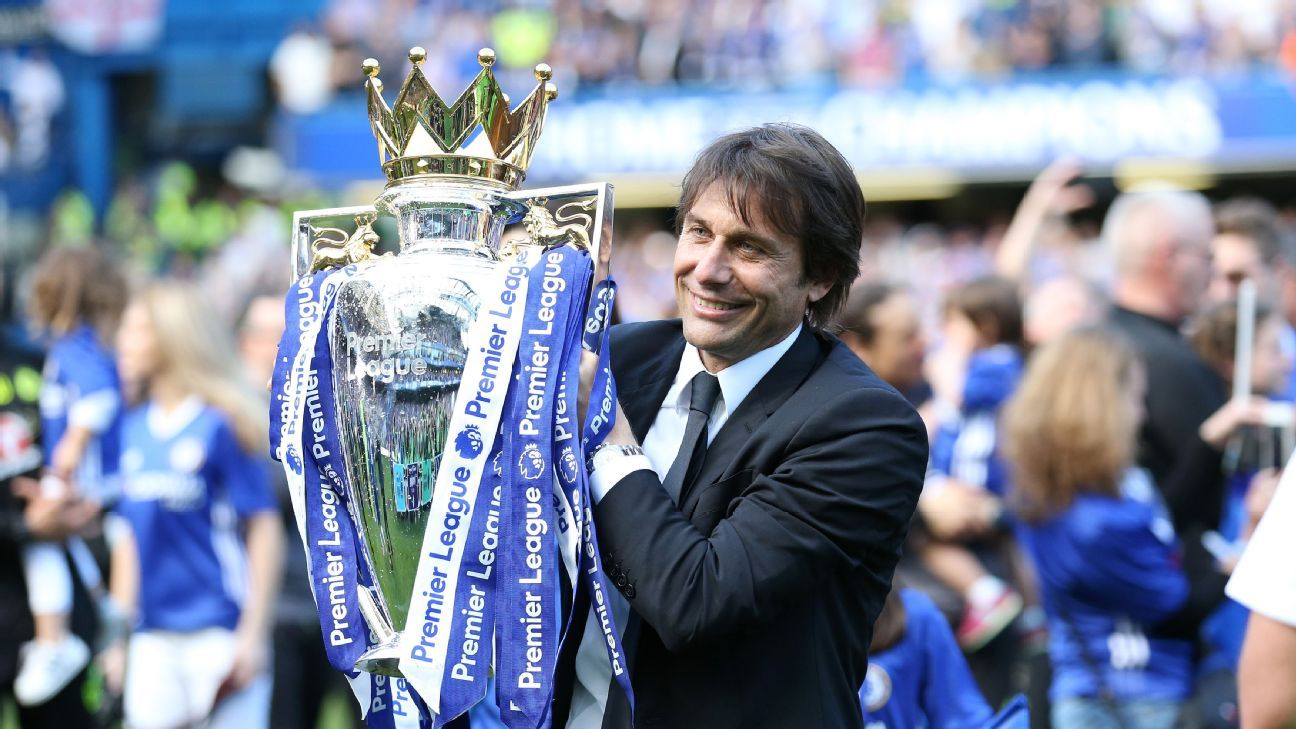 The Italian led Chelsea to the Premier League title in his first season in charge.