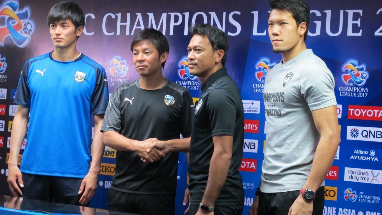 Muang Thong United media conference for 2017 ACL