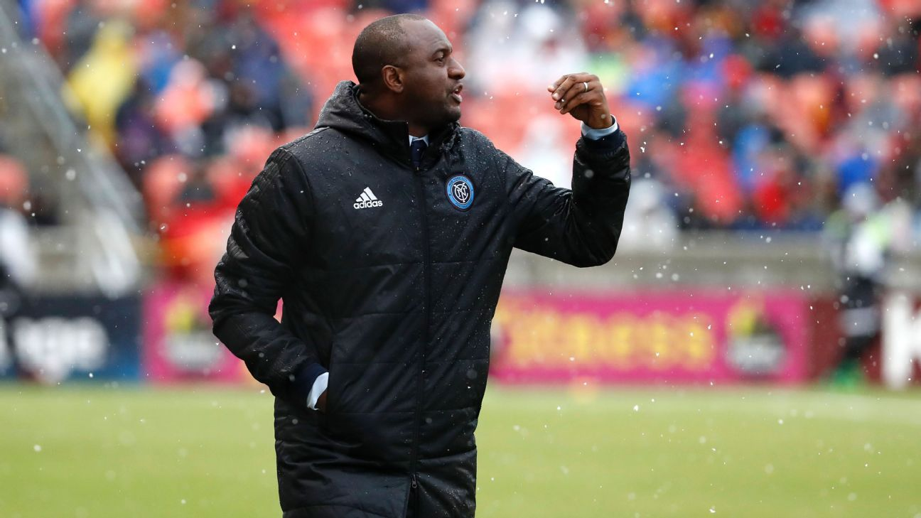New York City FC boss Patrick Vieira laughs off links to vacant Nice job