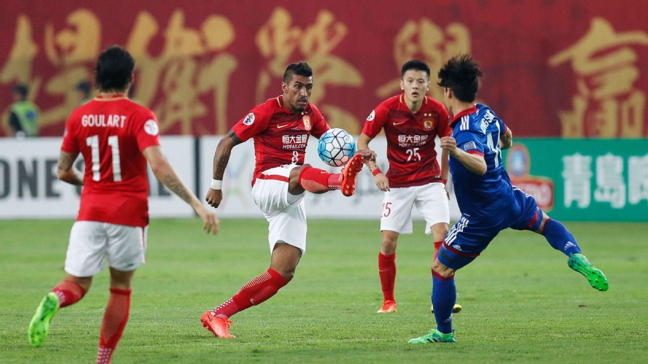 Paulinho of Guangzhou Evergrande