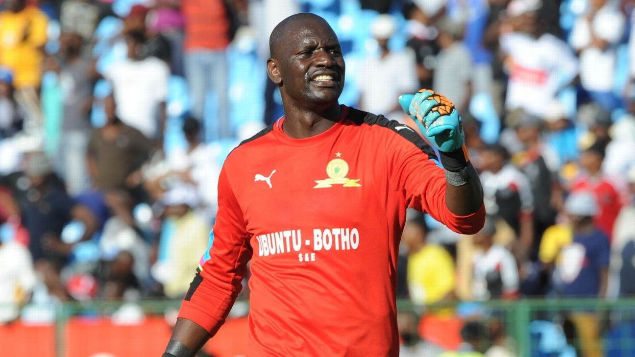 Denis Onyango of Mamelodi Sundowns