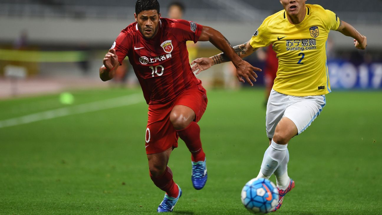 Hulk of SIPG in ACL v Jiangsu