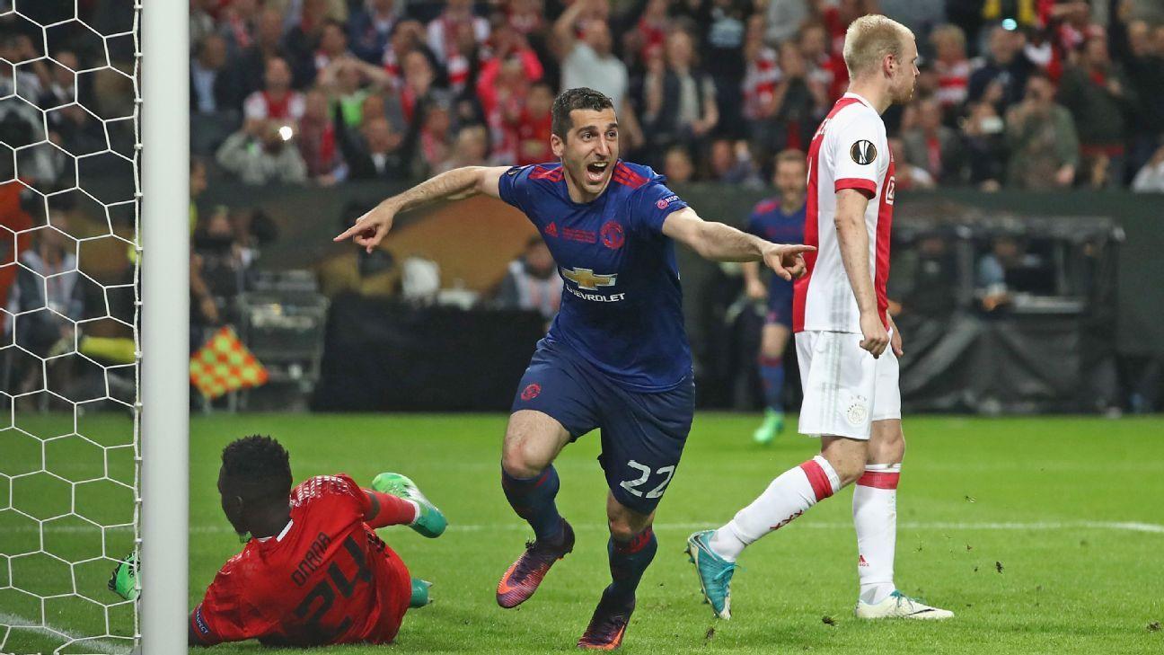 Facing Man City reminds Mkhitaryan how far he has come at Man United