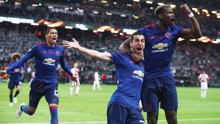 Henrikh Mkhitaryan and Paul Pogba are clients of agent Mino Raiola.