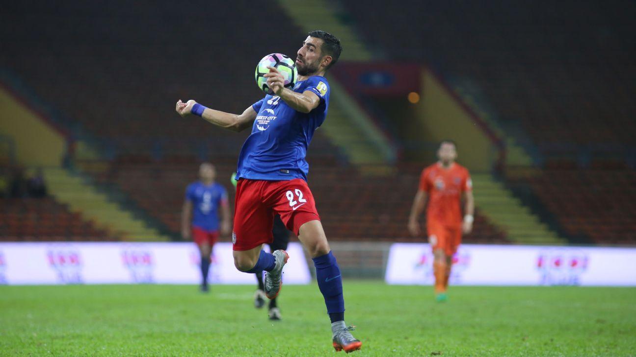 JDT forward Mohammed Ghaddar