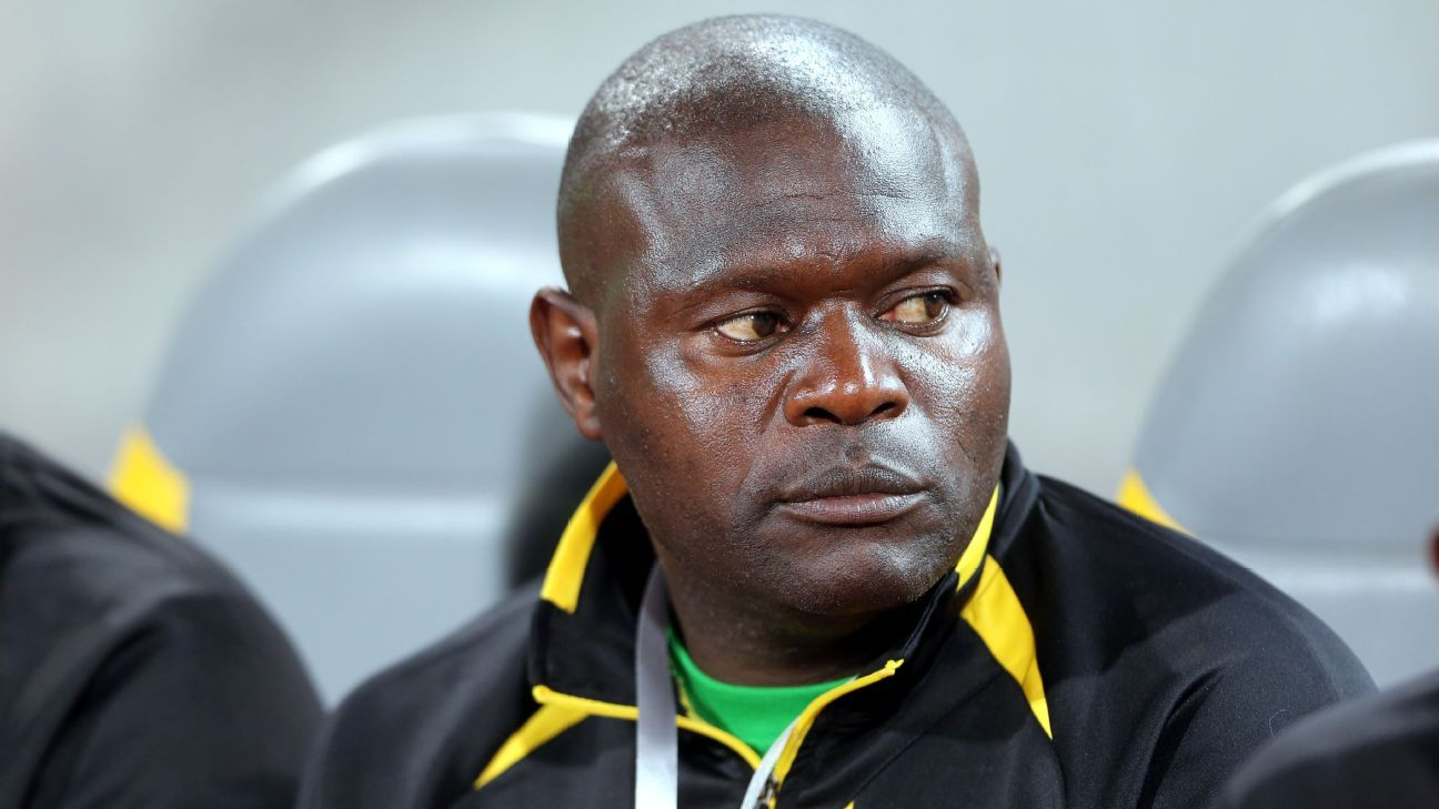 CAPS United coach Lloyd Chitembwe