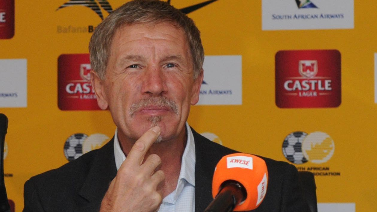 South Africa head coach Stuart Baxter