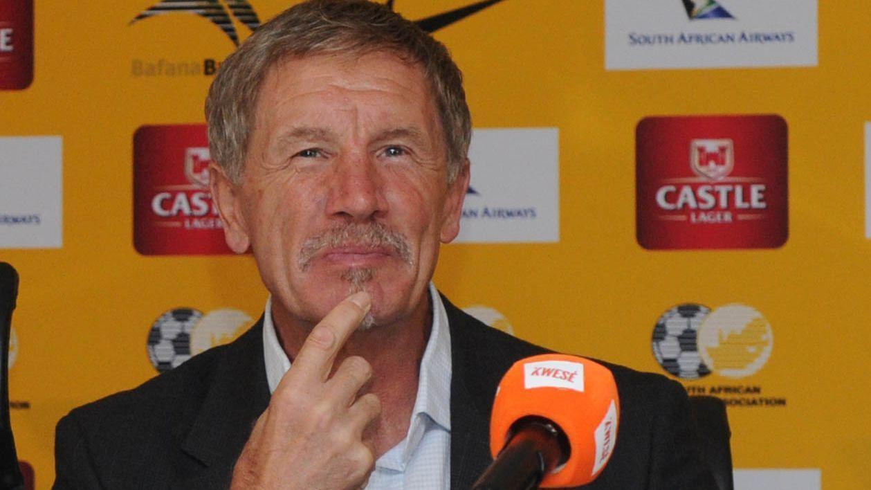 South Africa head coach Stuart Baxter