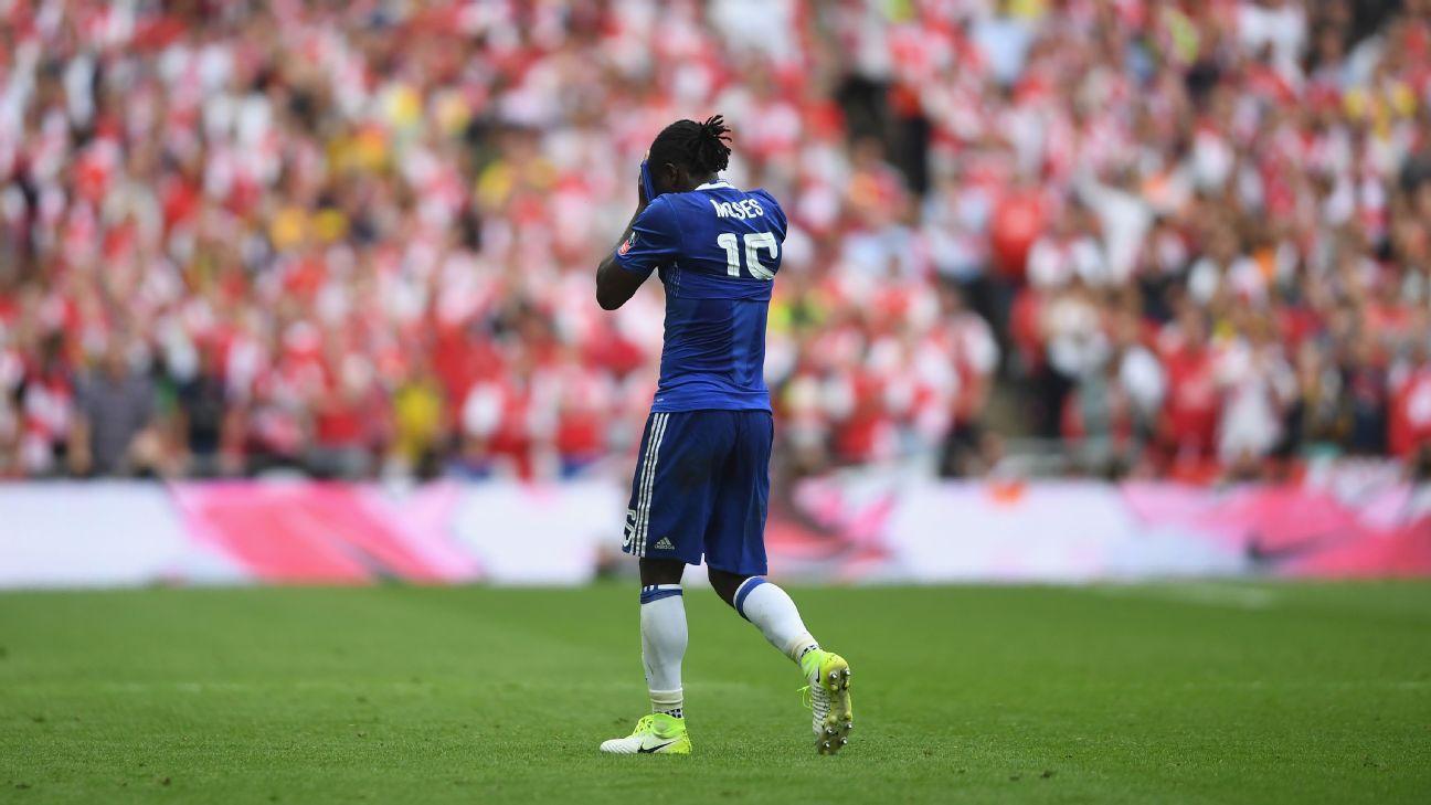 Chelsea boss Conte defends 'honest' Victor Moses despite FA Cup final dive