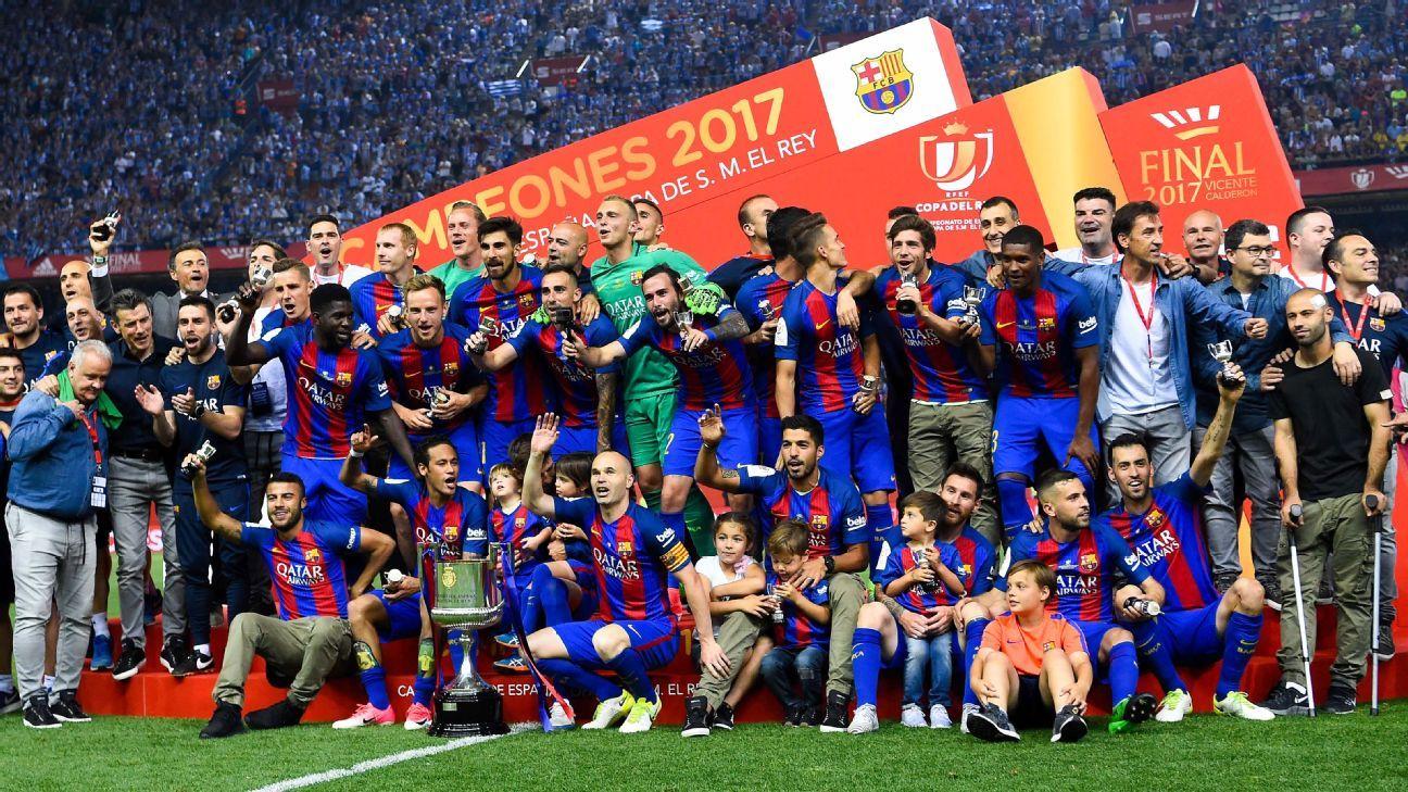 Barcelona Copa del Rey win