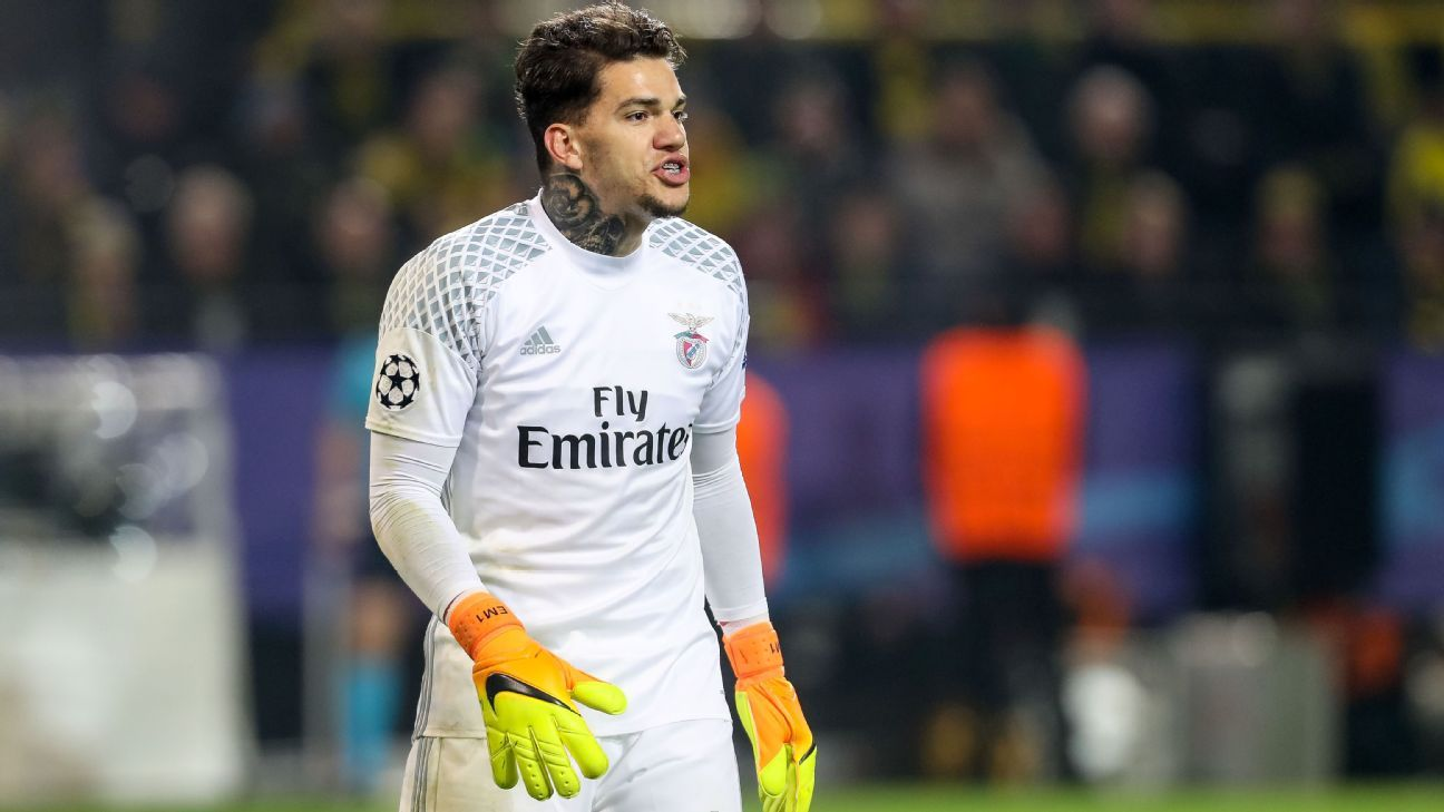 Benfica announce deal with Man City for goalkeeper Ederson Moraes