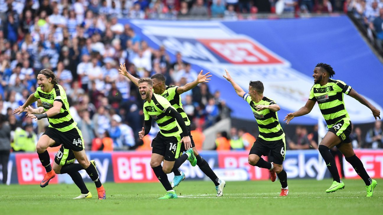 Huddersfield Town will play in the top flight for the first time since 1972.