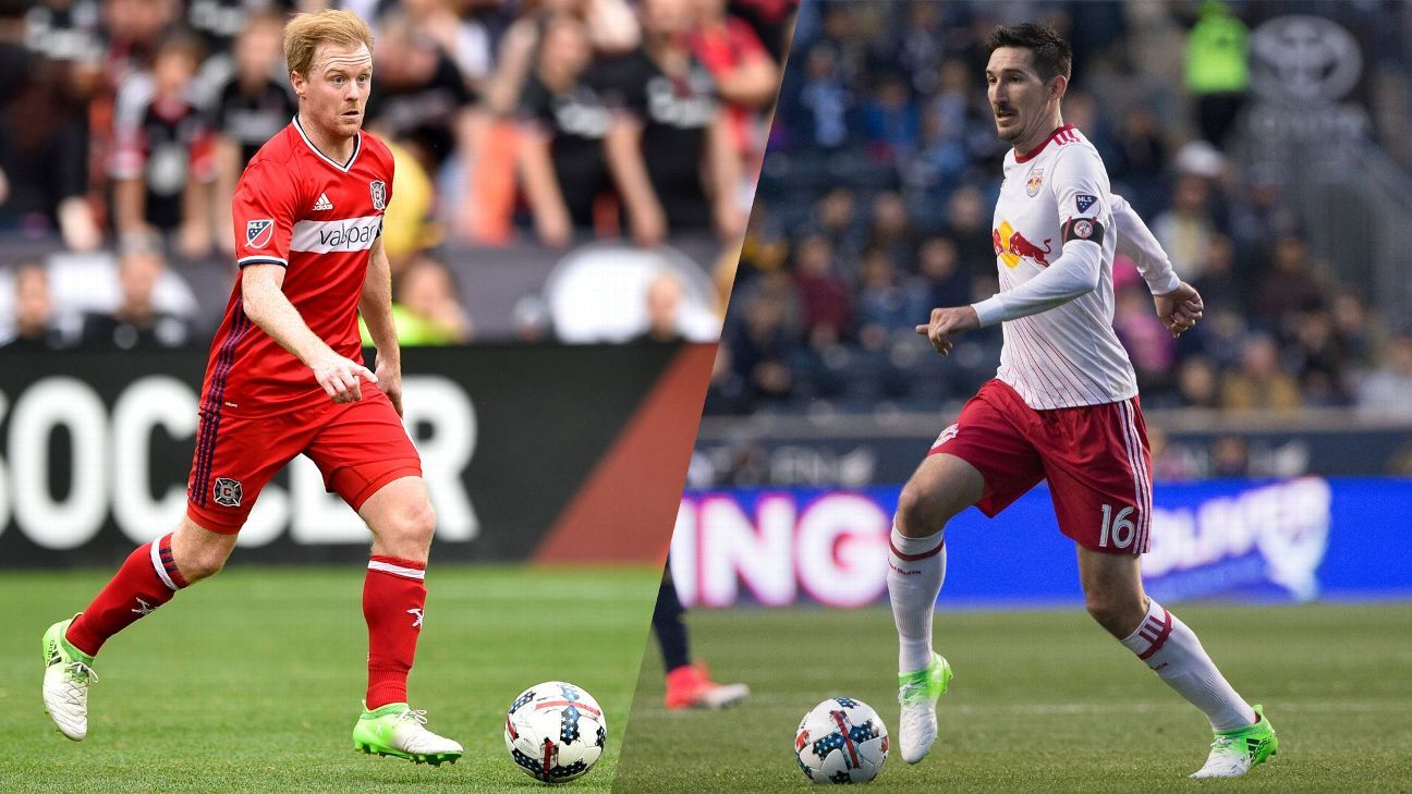 Dax McCarty and Sacha Kljestan