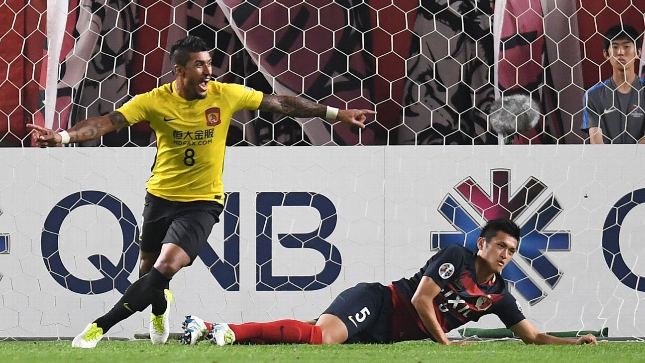 Paulinho scores decisive goal in ACL R16