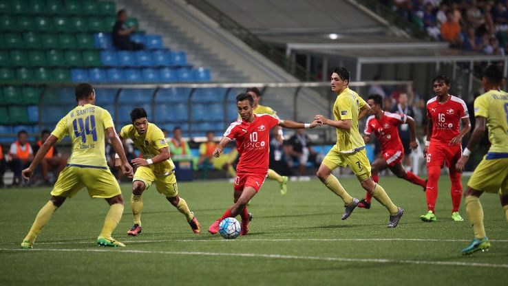 Faris Ramli for Home United in AFC Cup