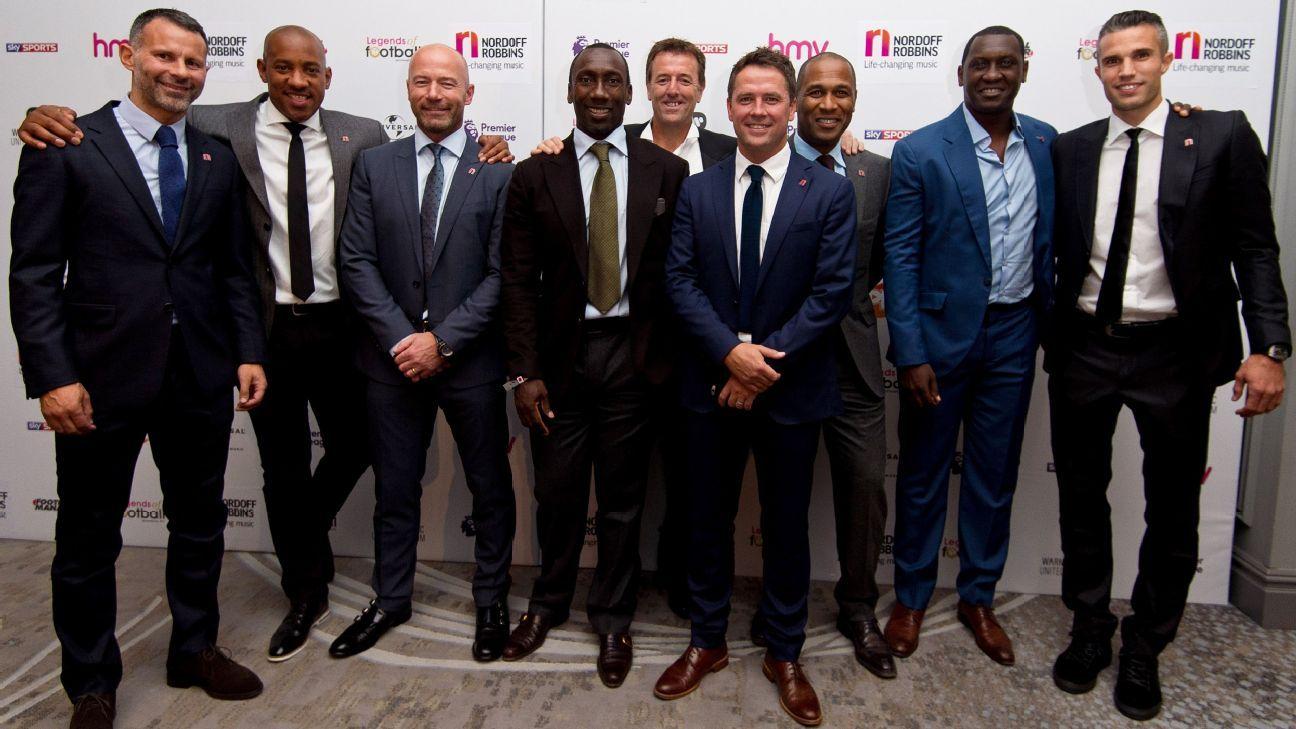 Emile Heskey, Michael Owen, Legends of Football 2016