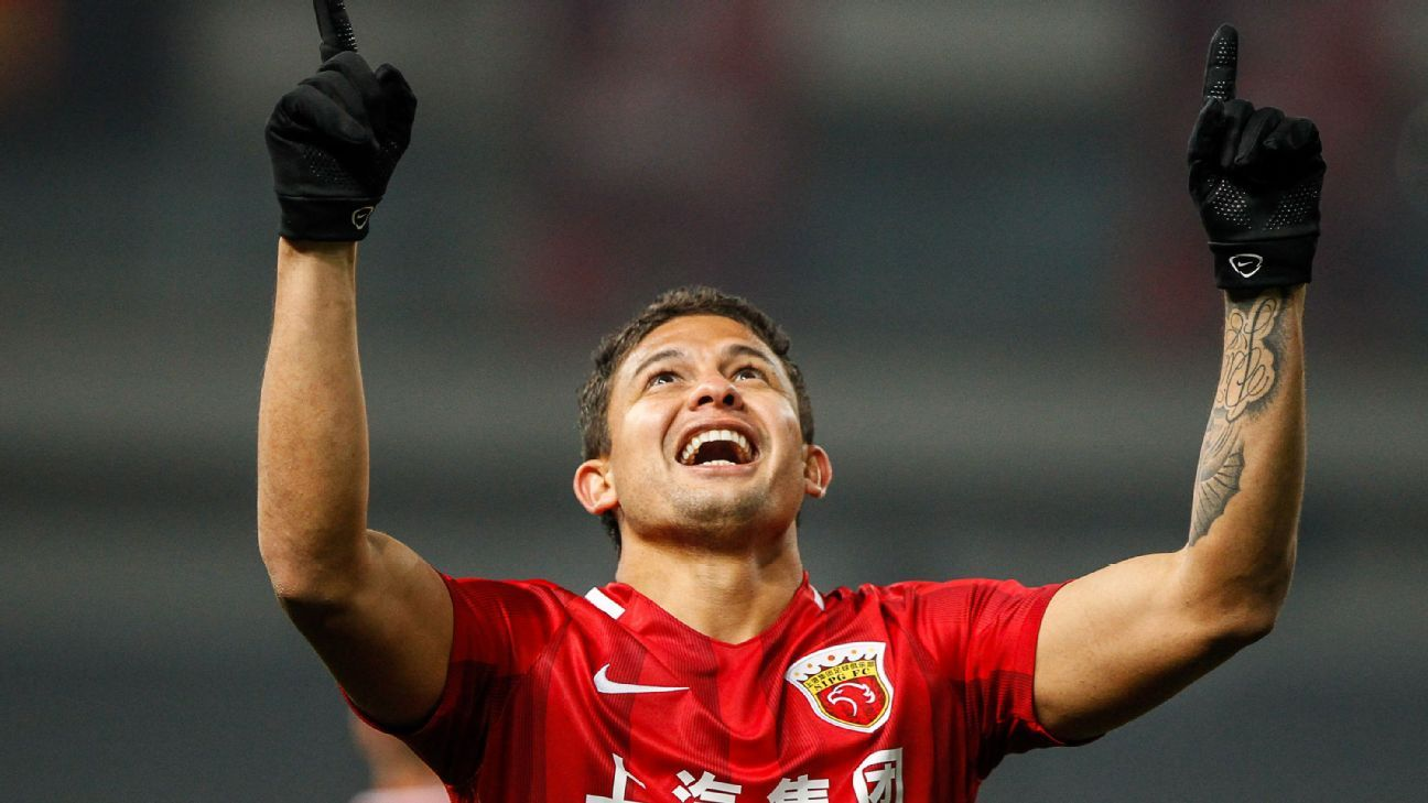 Elkeson scores for Shanghai SIPG in ACL