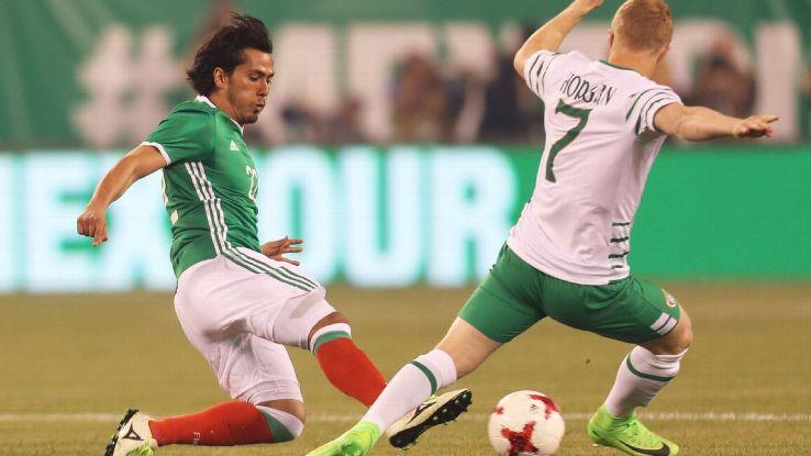 Jorge Hernandez Mex vs Ireland 170601