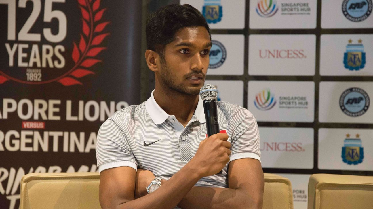 Singapore vice-captain Hariss Harun