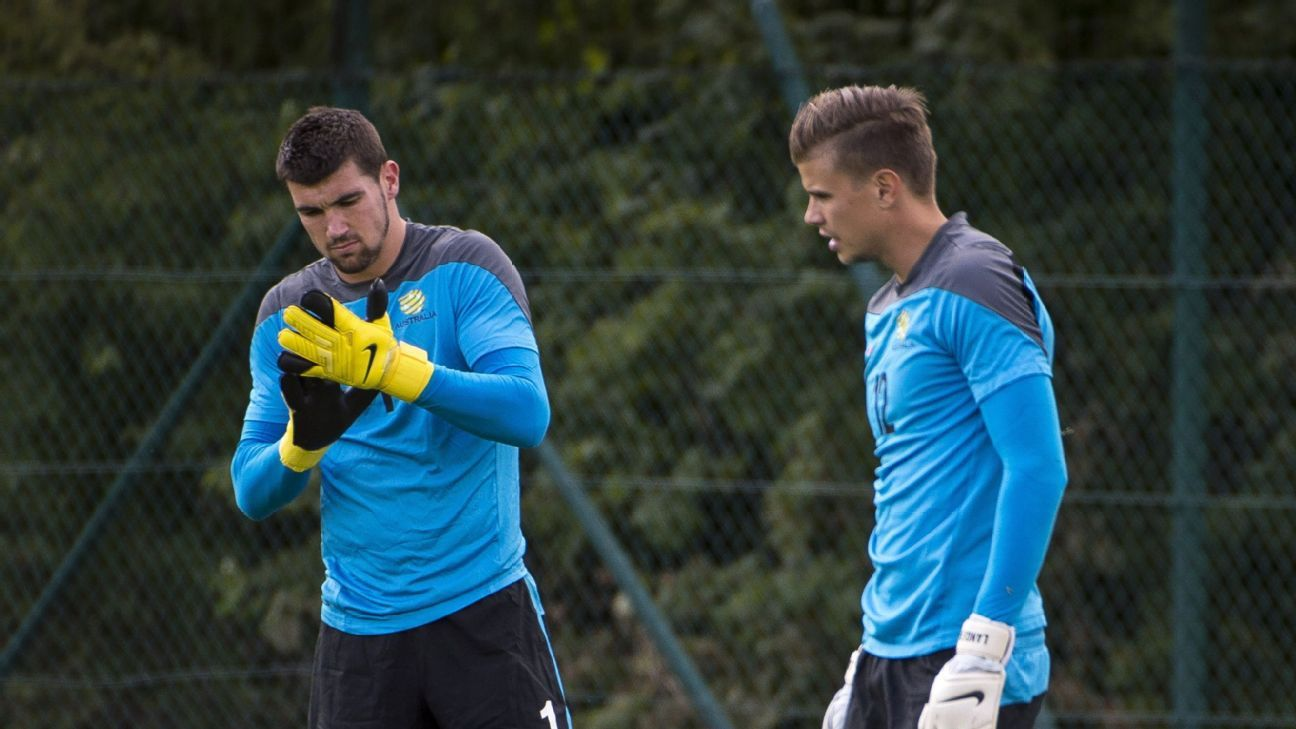 Mathew Ryan & Mitchell Langerak