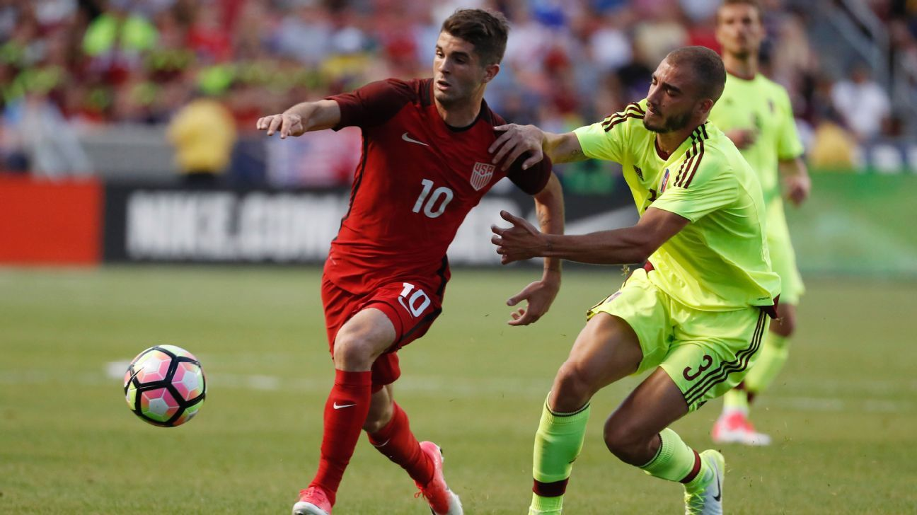 Christian Pulisic scored the United States' equalizer on Saturday.
