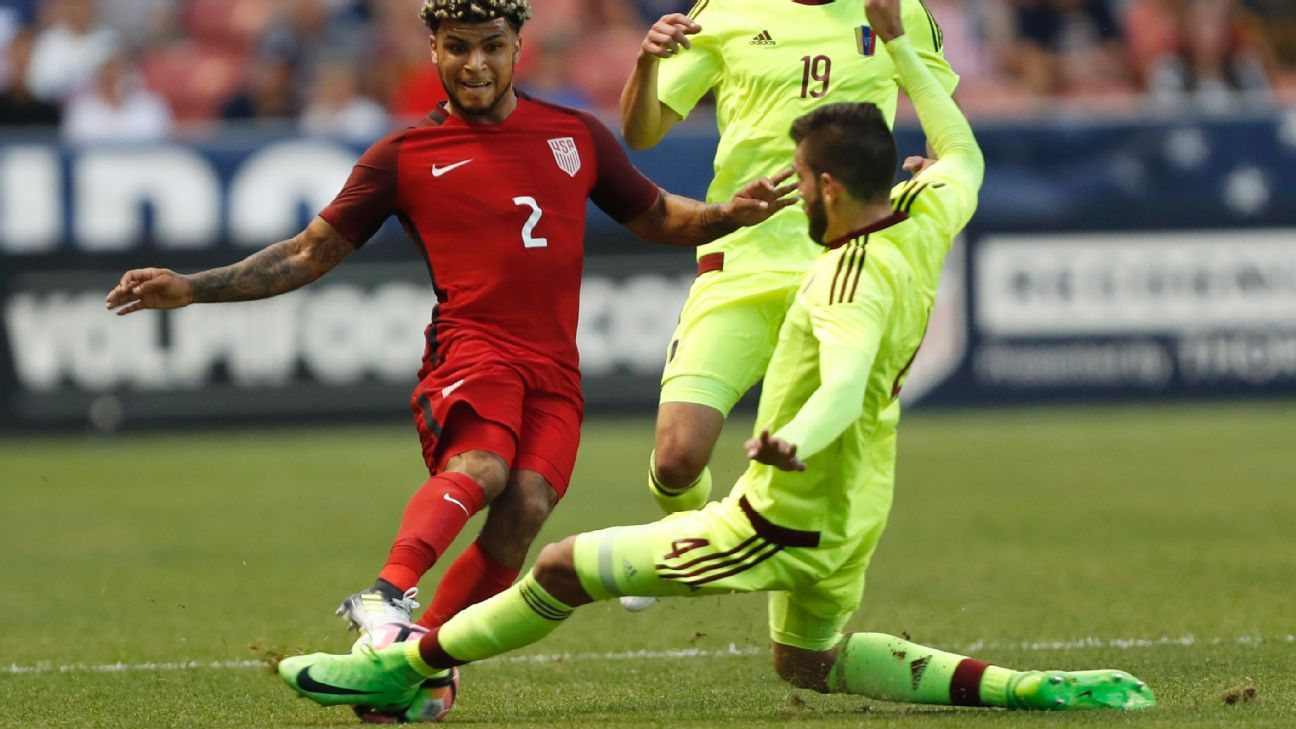 DeAndre Yedlin believes the negative reaction by U.S. fans when the team missed the World Cup shows they care.