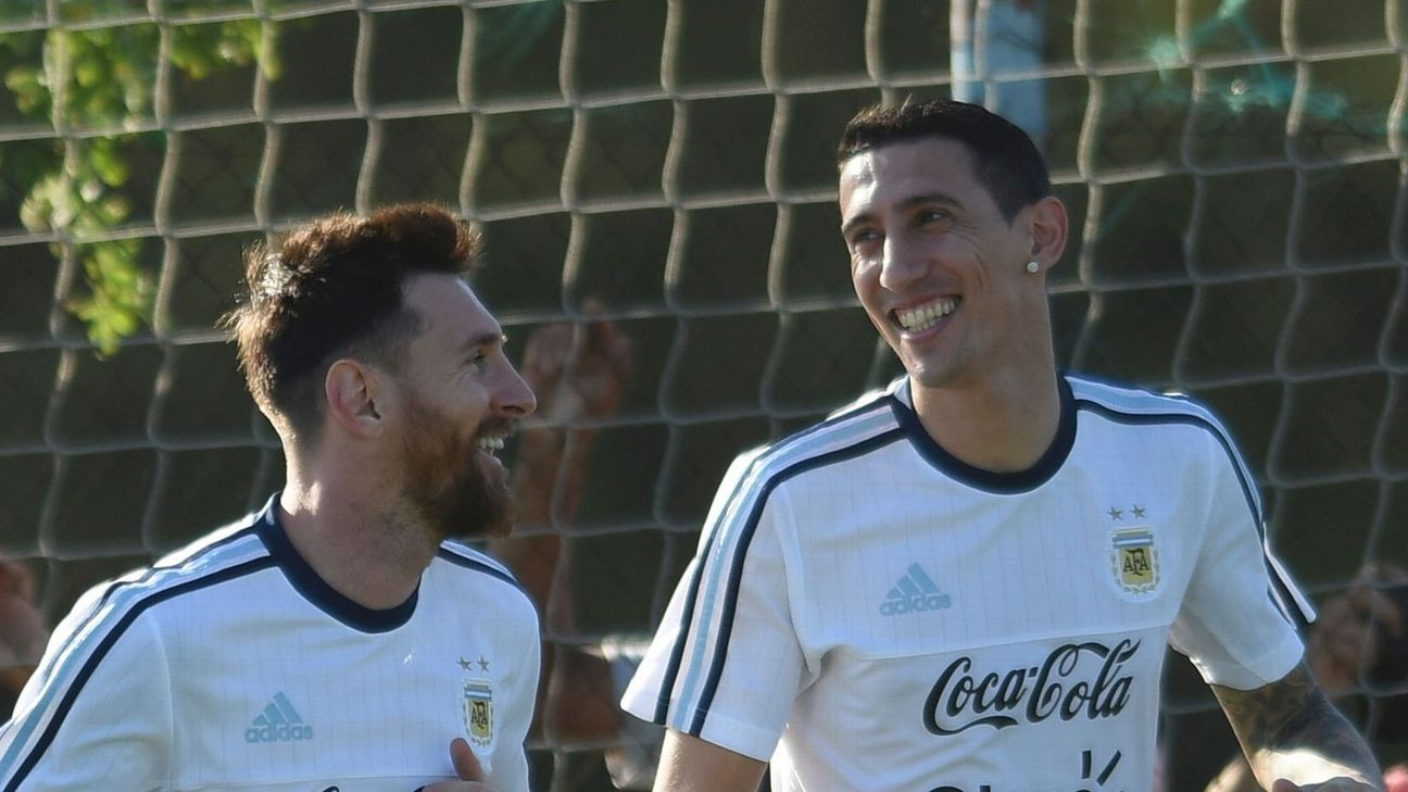 Lionel Messi & Angel Di Maria