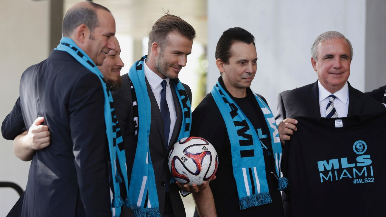 After four years of tribulations, Beckham's Miami plan finally a reality