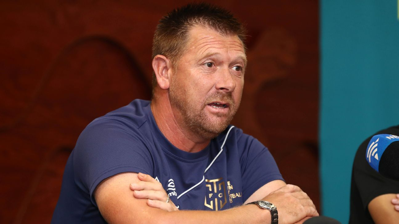 Eric Tinkler walks out on Cape Town City SuperSport next ESPN FC