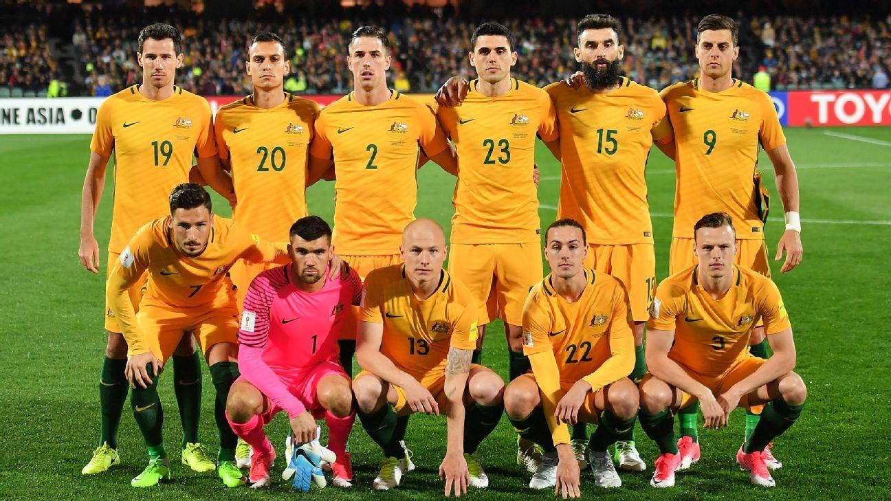 Australia team v Saudi Arabia 2017