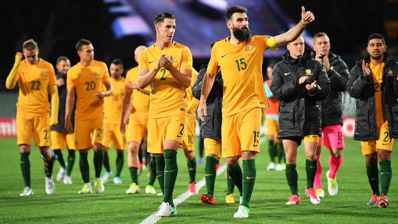 Australia celebrate WCQ win over Saudi Arabia