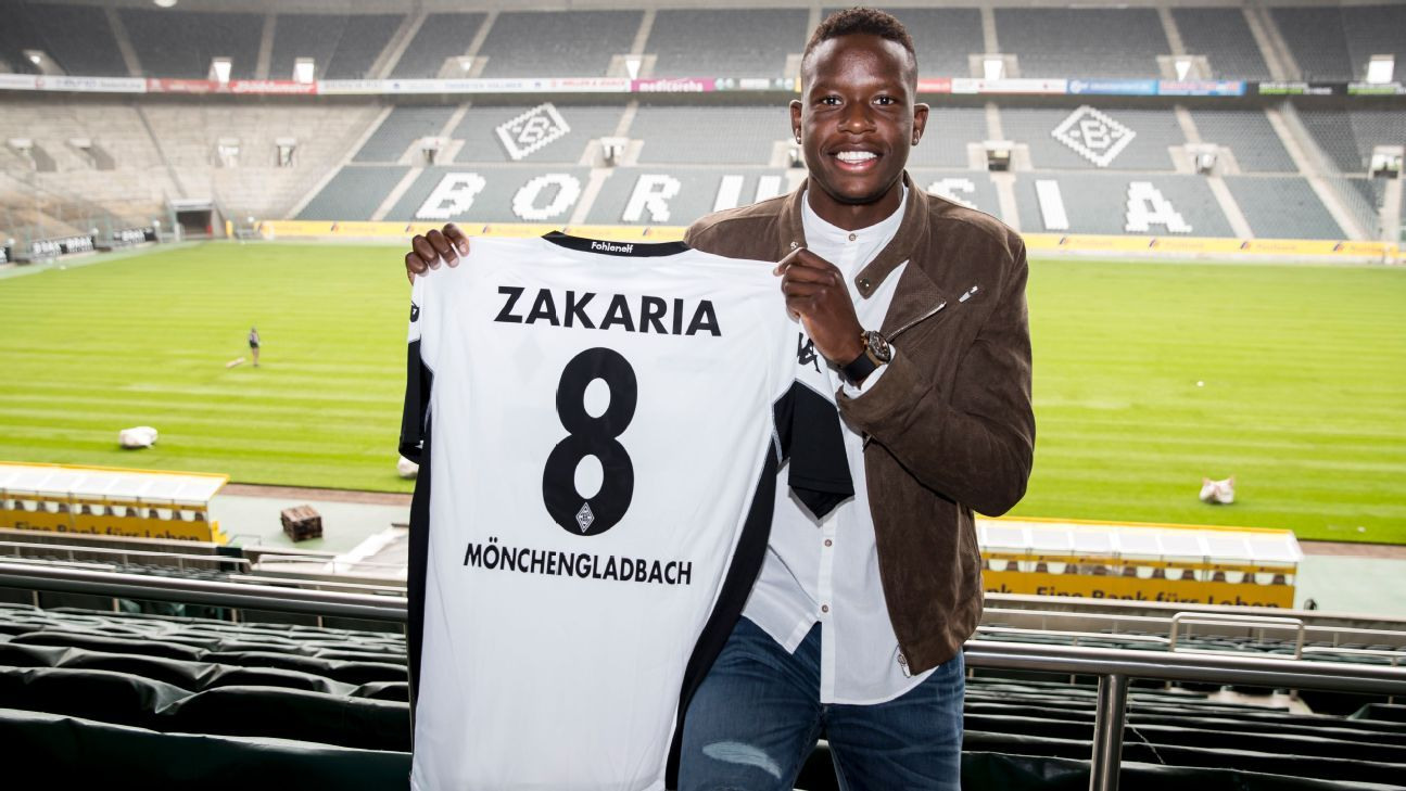Denis Zakaria Borussia Monchengladbach