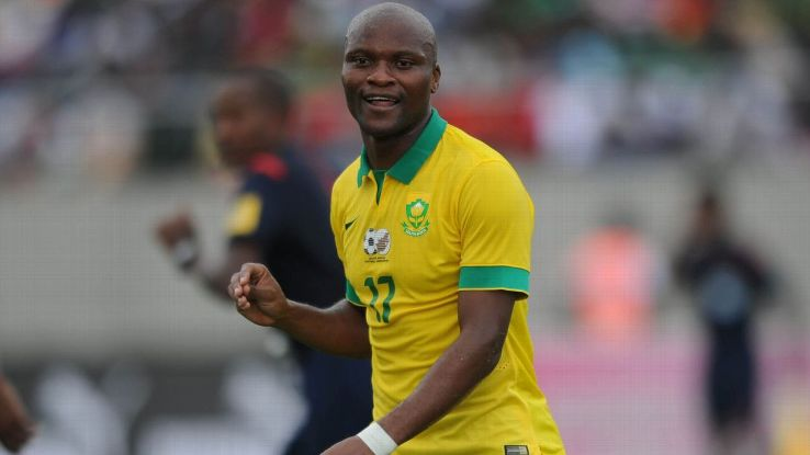 Tokelo Rantie of South Africa